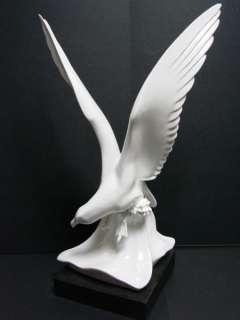 Antique MEISSEN White Bird Seagull Porcelain Statue
