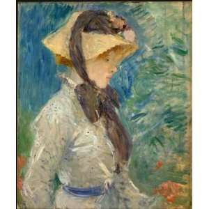 Hand Made Oil Reproduction   Berthe Morisot   32 x 38 inches   Young