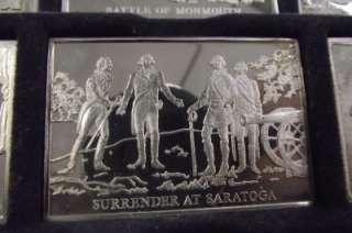 Bicentennial Danbury Mint Sterling Silver Ingot Bars lot