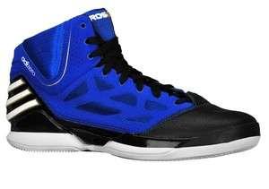 New Adidas adizero Derrick ROSE 2.5 Shoes 2012 Blue Black Trainers