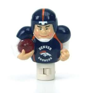 Denver Broncos NFL Player Night Light (5 inch): Sports