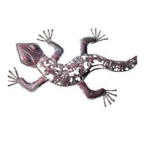 Ancient Graffiti Metal Die Cut Lizard Patio, Lawn & Garden