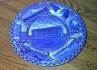 SEATTLE R&M ROWLAND MARSELLUS FLOW BLUE PLATE INDIAN