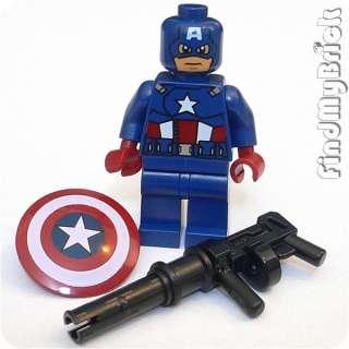 BM007 Lego Super Heroes Captain America Minifigure Marvel Universe