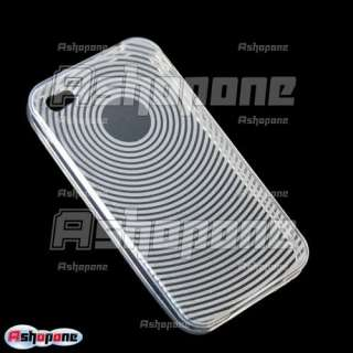 Clear TPU Gel Case Cover for Apple iPhone 4G OS 4