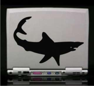 Mako Shark Marine Vinyl Decal Sticker 14 Colors