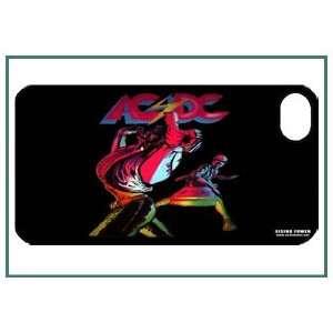 AC/DC iPhone 4 iPhone4 Black Designer Hard Case Cover Protector Bumper