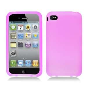 Apple iPhone 5 Light Pink Silicone Case Skin Cover