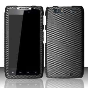 CARBON FIBER Design Hard Plastic Matte Case for Motorola