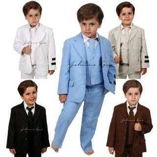 Johnnie Lene Boys Cotton/Linen Summer Suit Baby to Teen