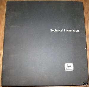 John Deere 700 Series OEM Engines Technical Manual