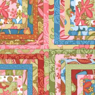 WOODLAND BLOOM Quilt Squares MODA 5 CHARMS