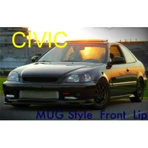 1999 2000 Honda Civic Ek JDM MUG Style Pu Front Bumper Lip