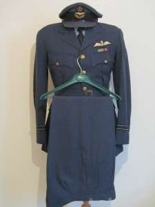 Genuine ww2 Flight Lieutenants RAF Officers Uniform. Excellent