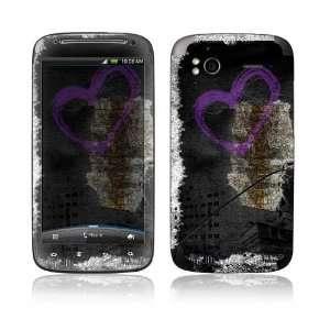 Urban Love Decorative Skin Decal Sticker for HTC Sensation