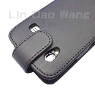 Samsung Galaxy Ace S5830 Leather Case Cover + LCD Film