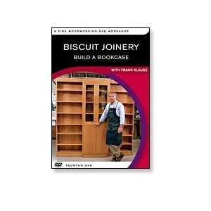 BISCUIT JOINERY BUILD A BOOKCASE with Frank Klausz: Home