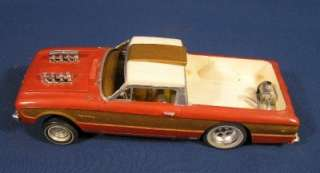 Vintage Built Up 1961 AMT FORD RANCHERO Model Car Kit