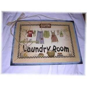 Laundry Room Country Clothesline Sign Lost Socks Large