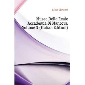 Di Mantova, Volume 3 (Italian Edition) Labus Giovanni Books