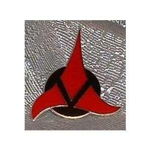 Star Trek Next Gen KLINGON EMPIRE Logo Enamel PIN