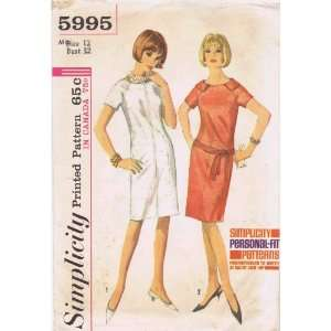 Pattern Womens Shift Dress Size 12 Bust 32 Arts, Crafts & Sewing