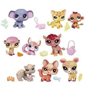 Littlest Pet Shop 3 Pack Pets Wave 1 Set Toys & Games