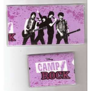 Checkbook Cover Debit Set Disney Camp Rock