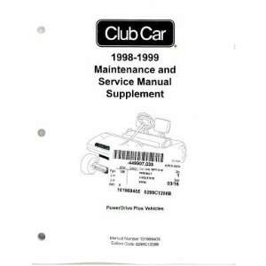 Car PowerDrive Plus Maintenance And Service Manual Supplement Club