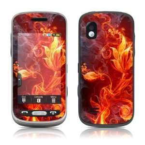 Flower Of Fire Design Skin Decal Sticker for Samsung