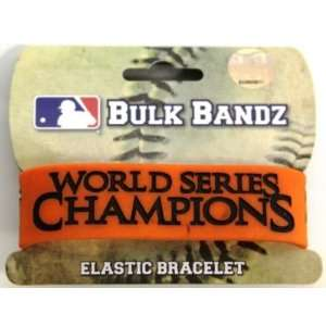 San Francisco Giants World Series Bulk Bandz Bracelet