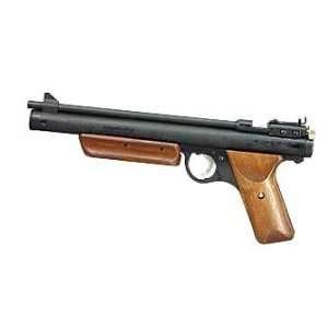 Benjamin Sheridan HB 17 Air pistol .177 525FPS 9.38 Black Wood Pump