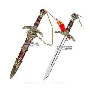 Hood Dagger Medieval Crusader Knight Sword Knife