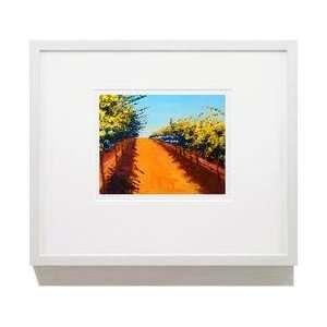 Fine Giclée Vineyard Print Late Harvest 11 X 14 Un Framed Print