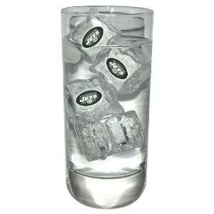 New York Jets NFL Light Up Ice Cubes (Set of 4) Sports