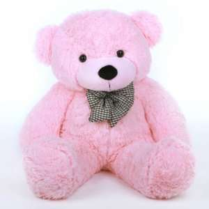 Lady Cuddles Soft and Huggable Pink Teddy Bear 30in Toys & Games