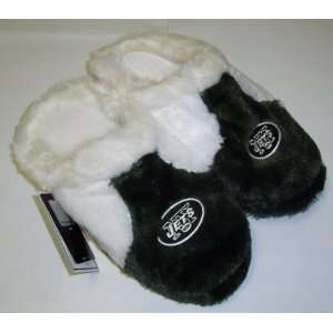 New York Jets NFL Youth Plush Slippers