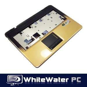 Asus X83V Laptop Touchpad Base Case Gold Power Button
