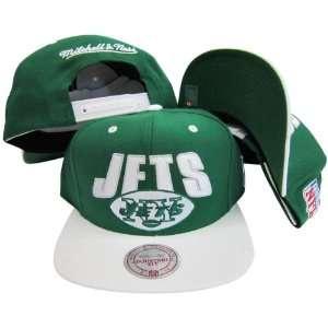 New York Jets Green/White Two Tone Plastic Snapback