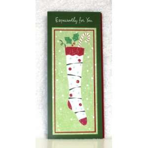 Christmas Cards for Money  Stocking Pack of 8 American