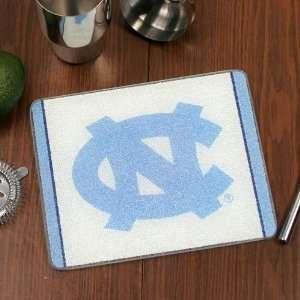 North Carolina Tar Heels (UNC) 10 x 8 Tempered Glass Cutting Board