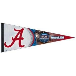 NCAA Alabama Crimson Tide 2012 BCS National Championship Game Pennant