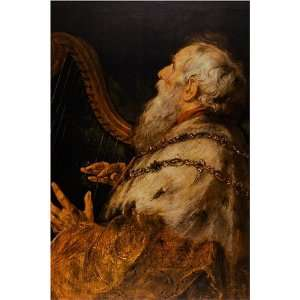 King David by Sir Peter Paul Rubens, 17 x 20 Fine Art