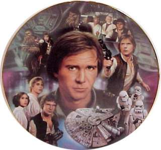 Star Wars Han Solo Heroes and Villains Plate, Hamilton