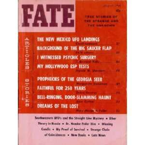 Fate Magazine, August 1964: New Mexico UFO Landings