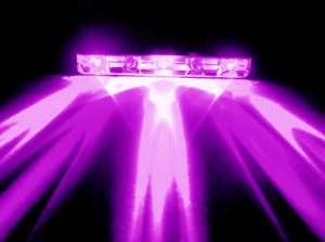 Purple / UV 5 LED Pod for Motorcycle/Bike/Car/Home/Boat 12V Bar Light