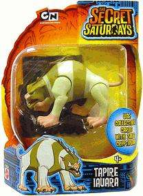 The Secret Saturdays TAPIRE IAUARA Action Figure Mattel
