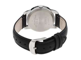 Timex Elevated Classic Dress   Black Leather Strap