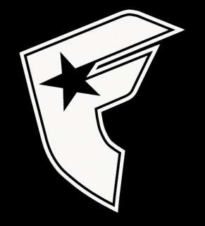 Famous Stars and Straps Vinyl Decal Sticker 3x 3.5