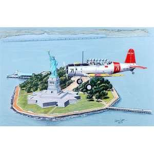 Sam Lyons   BT 13 Valiant World War II Aviation Art